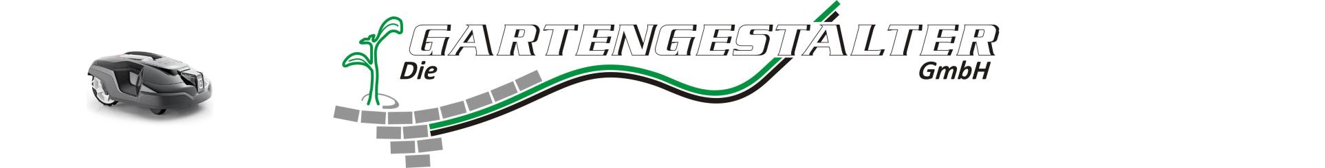 Logo die Gartengestalter GmbH mit Rasenmäher